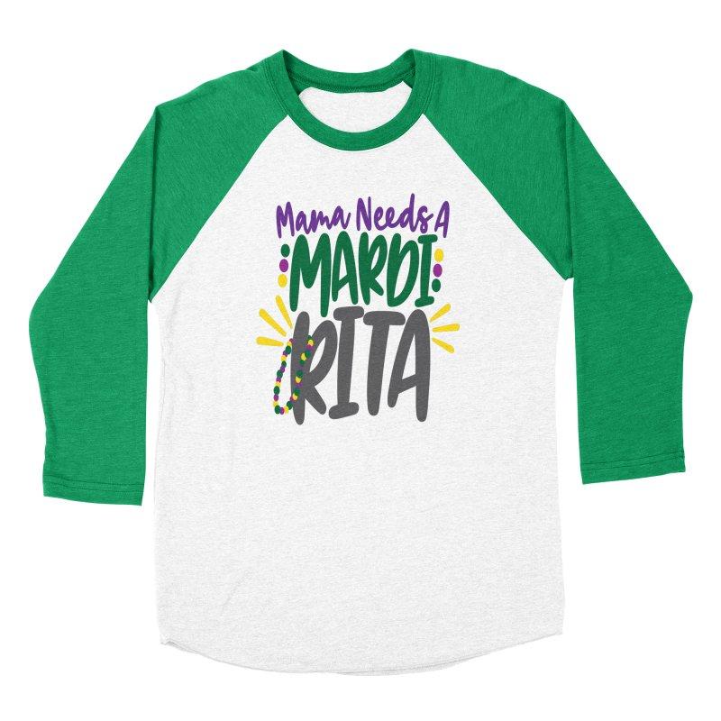 Mama Needs A Mardi Rita Women's Longsleeve T-Shirt by Divinitium's Clothing and Apparel