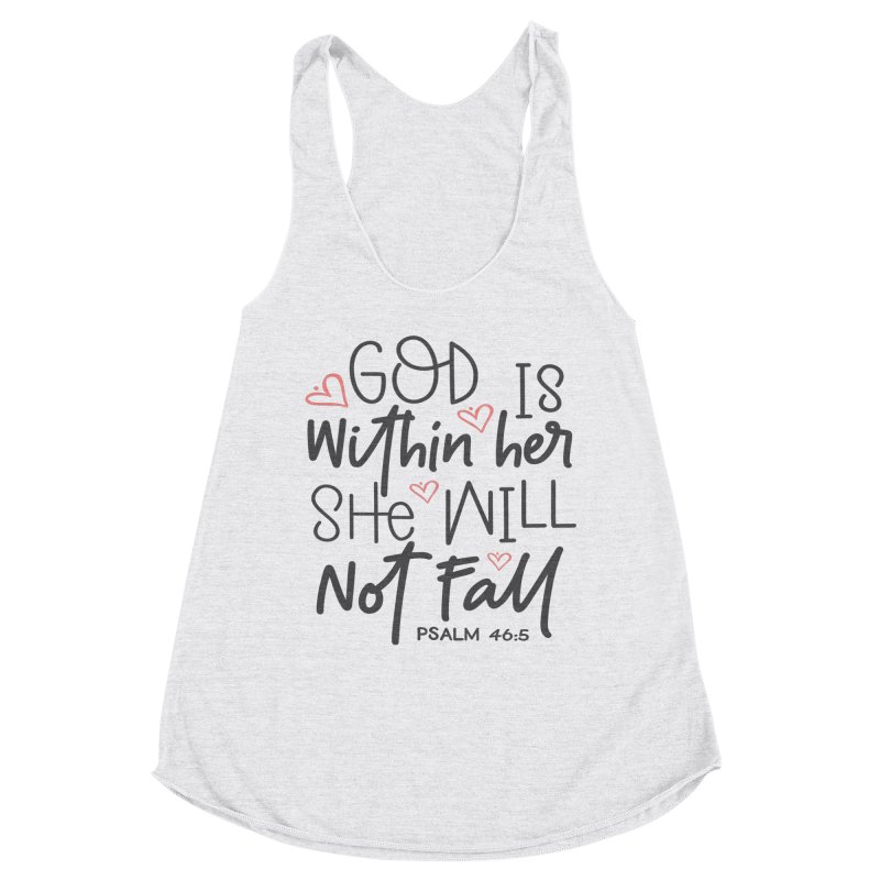 Psalm 46:5 Women's Tank by Divinitium's Clothing and Apparel