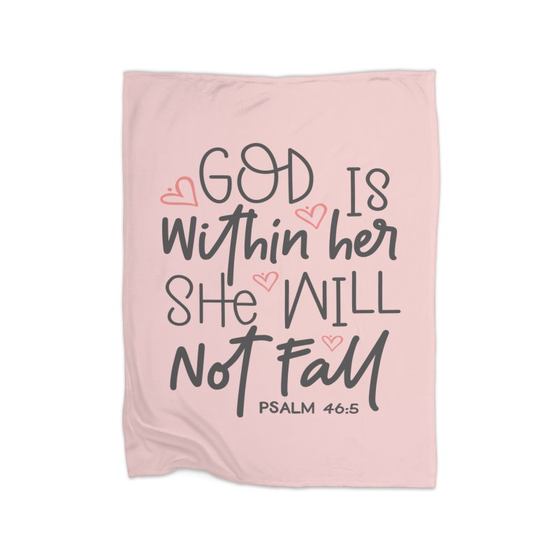 Psalm 46:5 Home Blanket by Divinitium's Clothing and Apparel