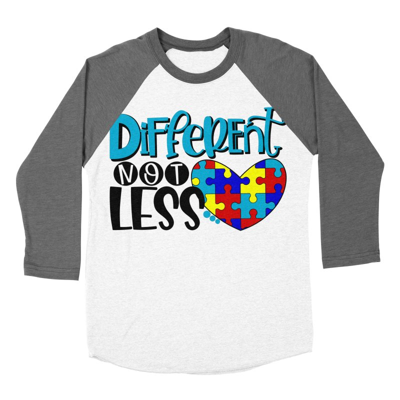 Different Not Less Women's Longsleeve T-Shirt by Divinitium's Clothing and Apparel