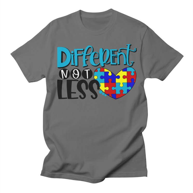 Different Not Less Men's T-Shirt by Divinitium's Clothing and Apparel