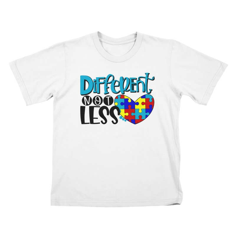 Different Not Less Kids T-Shirt by Divinitium's Clothing and Apparel
