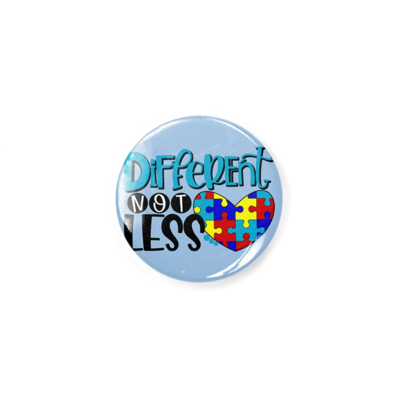Different Not Less Accessories Button by Divinitium's Clothing and Apparel