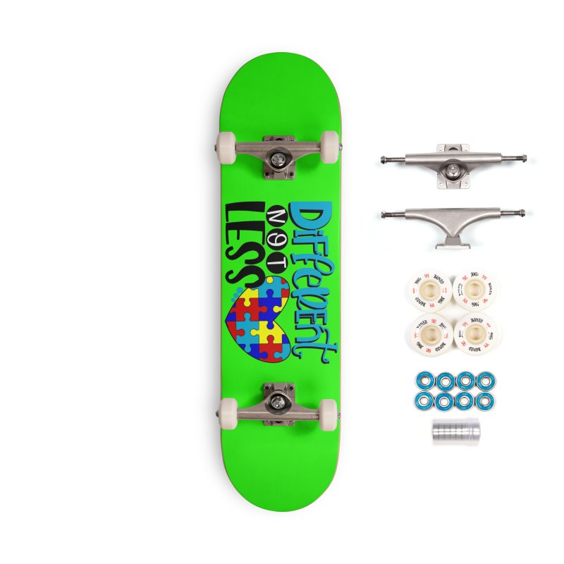 Different Not Less Accessories Complete - Premium Skateboard by Divinitium's Clothing and Apparel