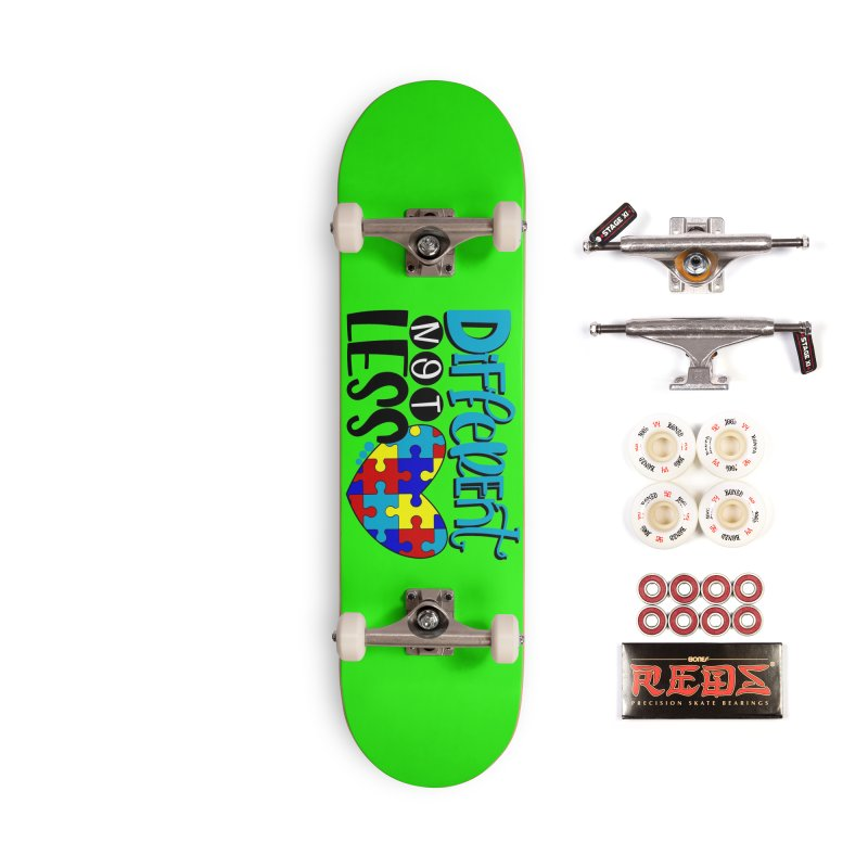 Different Not Less Accessories Complete - Pro Skateboard by Divinitium's Clothing and Apparel