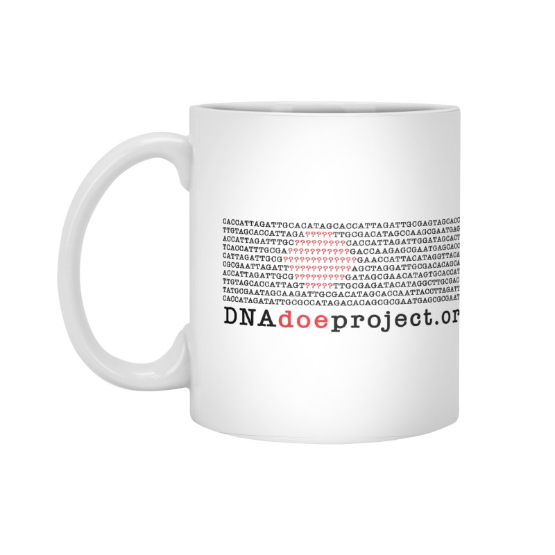 DNA Doe Project Official Accessories Mug by DNA Doe Project Shop