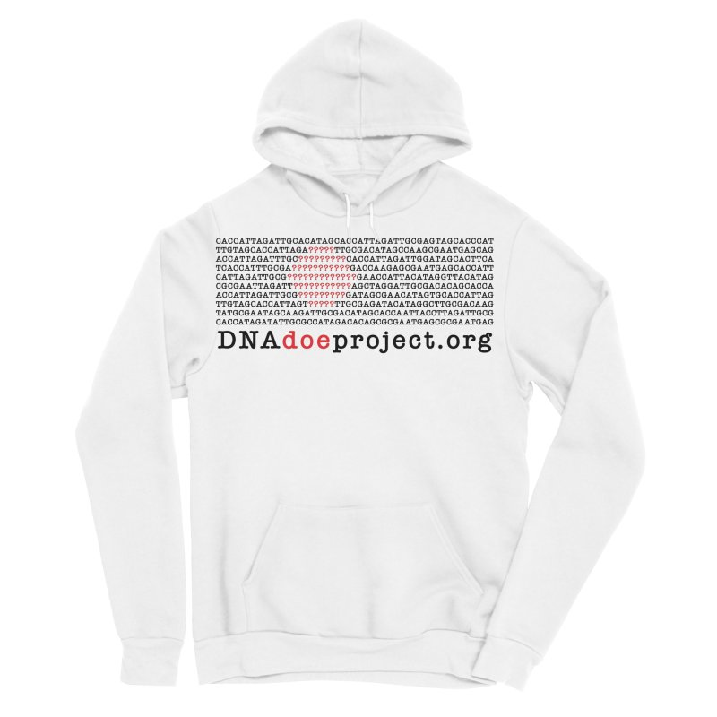 DNA Doe Project Official Men's Sponge Fleece Pullover Hoody by DNA Doe Project Shop