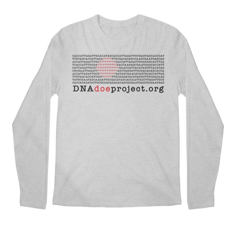 DNA Doe Project Official Men's Regular Longsleeve T-Shirt by DNA Doe Project Shop