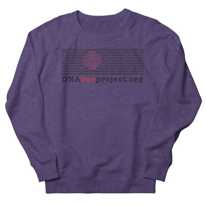 DNA Doe Project Official Men's French Terry Sweatshirt by DNA Doe Project Shop
