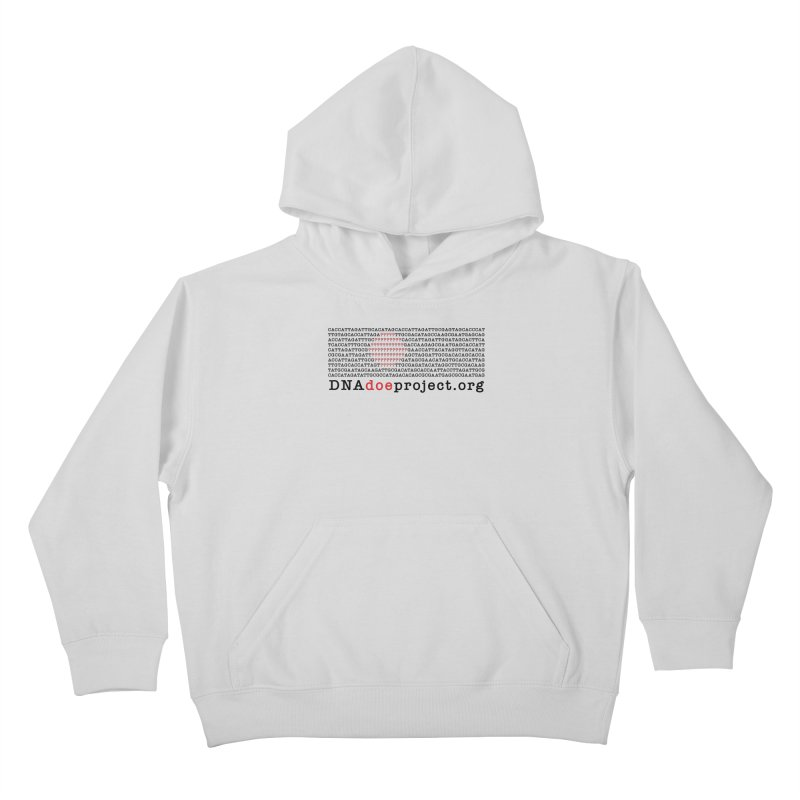 DNA Doe Project Official Kids Pullover Hoody by DNA Doe Project Shop