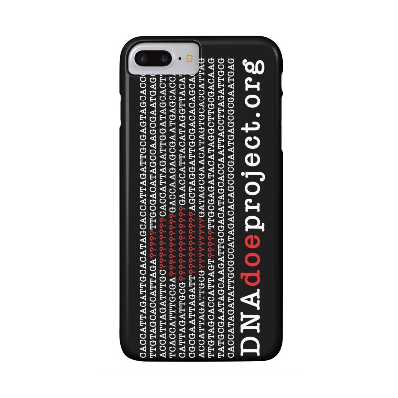 DNA Doe Project Official (Dark variant) Accessories Phone Case by DNA Doe Project Shop