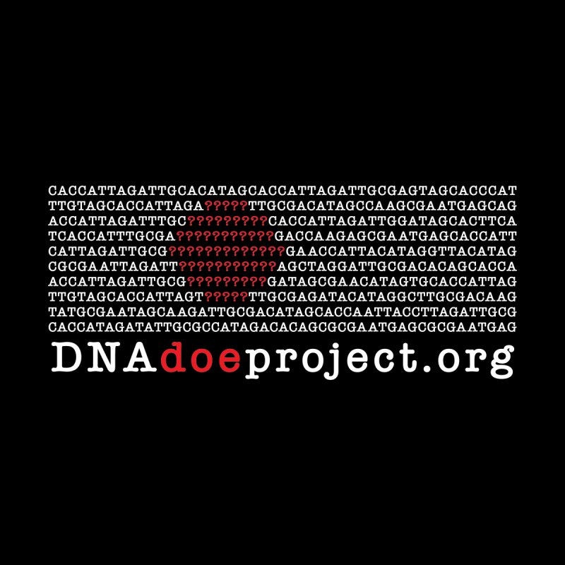 DNA Doe Project Official (Dark variant) by DNA Doe Project Shop