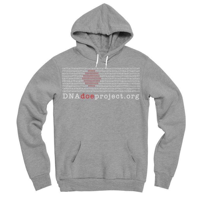 DNA Doe Project Official (Dark variant) in Men's Sponge Fleece Pullover Hoody Heather Graphite by DNA Doe Project Shop