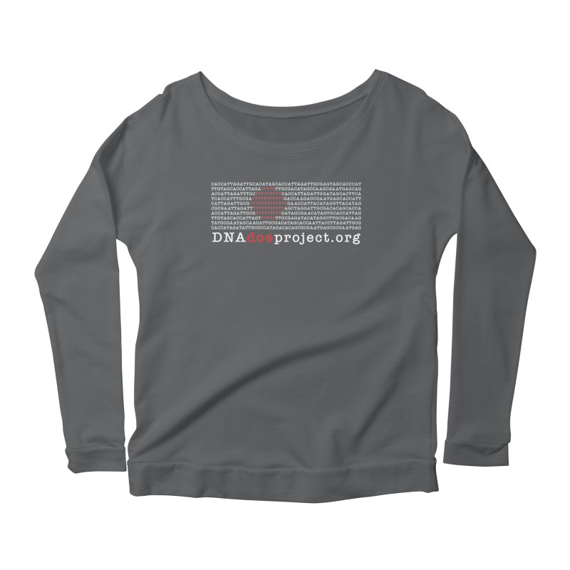 DNA Doe Project Official (Dark variant) Women's Longsleeve T-Shirt by DNA Doe Project Shop