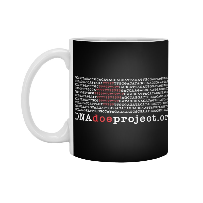 DNA Doe Project Official (Dark variant) Accessories Mug by DNA Doe Project Shop