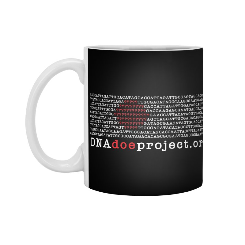 DNA Doe Project Official (Dark variant) Accessories Standard Mug by DNA Doe Project Shop