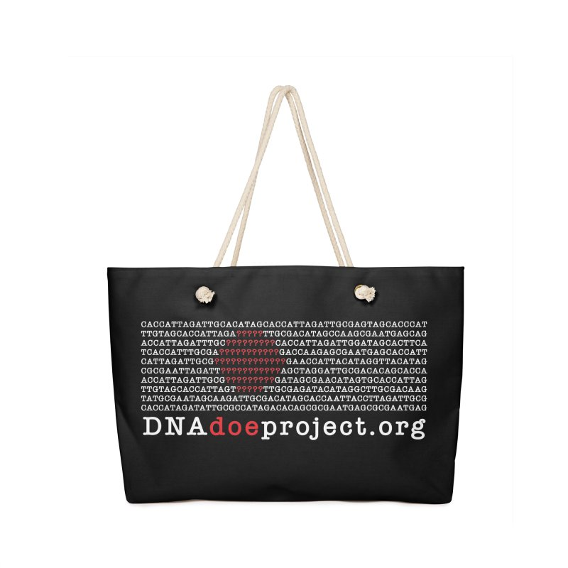 DNA Doe Project Official (Dark variant) Accessories Bag by DNA Doe Project Shop