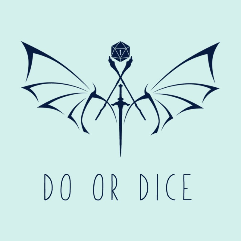 Do Or Dice Logo (Navy) by DoOrDicePodcast's Artist Shop