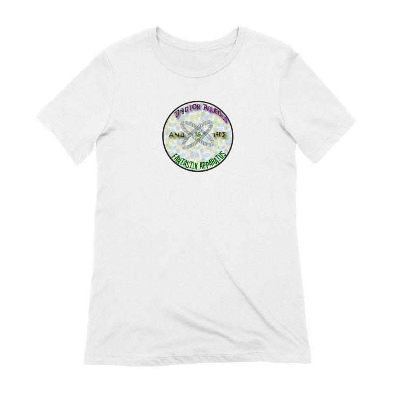 Amoeba Logo Women's Extra Soft T-Shirt by Dr Aqueous and the Fantastik Apparatus