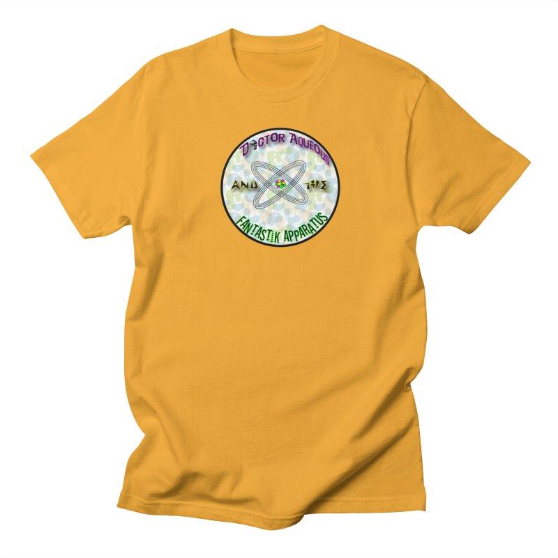 Amoeba Logo Men's Regular T-Shirt by Dr Aqueous and the Fantastik Apparatus