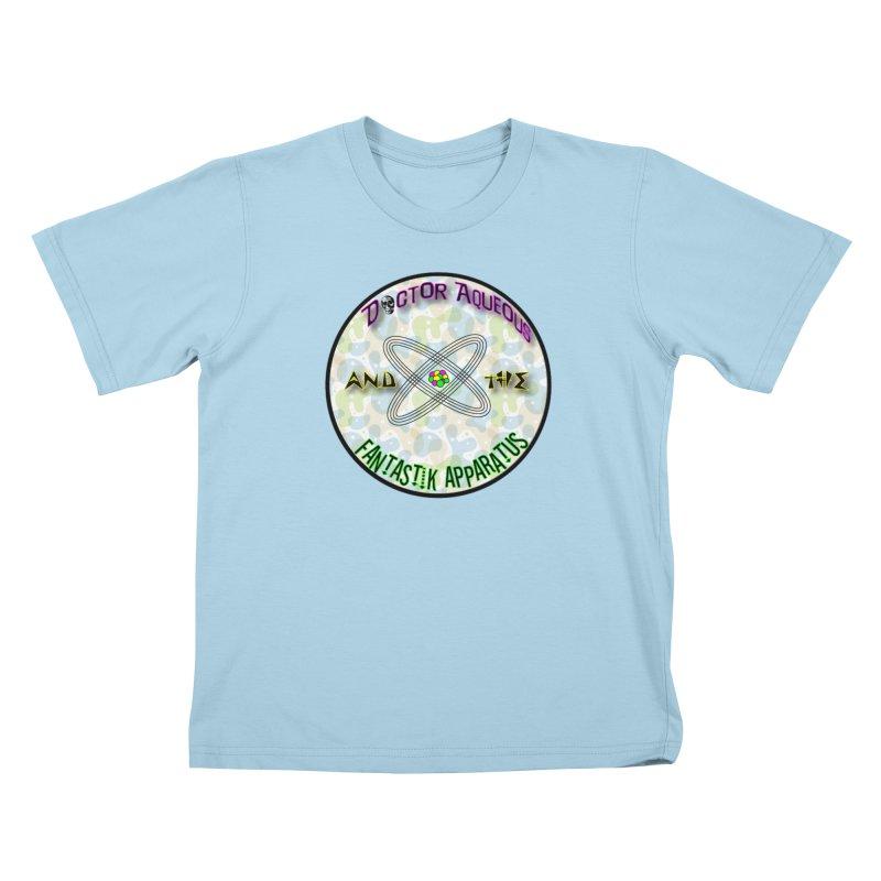 Amoeba Logo Kids T-Shirt by Dr Aqueous and the Fantastik Apparatus