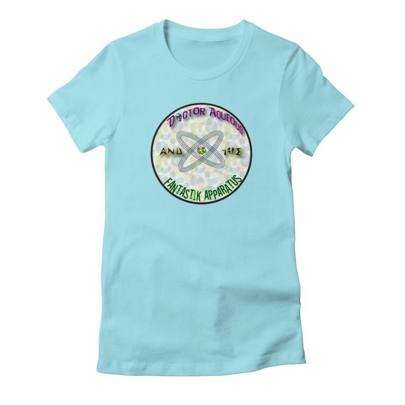Amoeba Logo Women's Fitted T-Shirt by Dr Aqueous and the Fantastik Apparatus