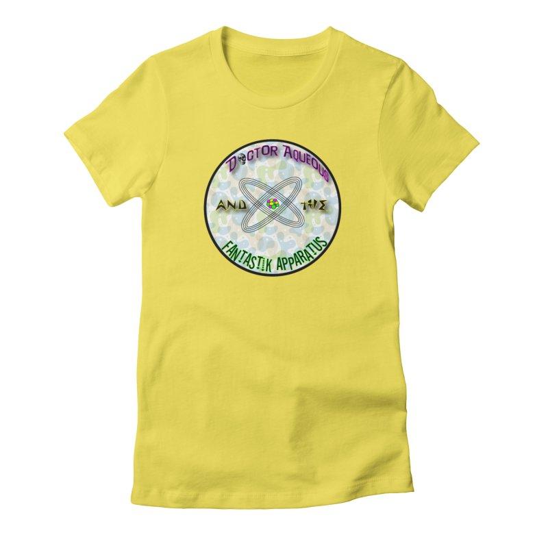 Amoeba Logo Women's T-Shirt by Dr Aqueous and the Fantastik Apparatus