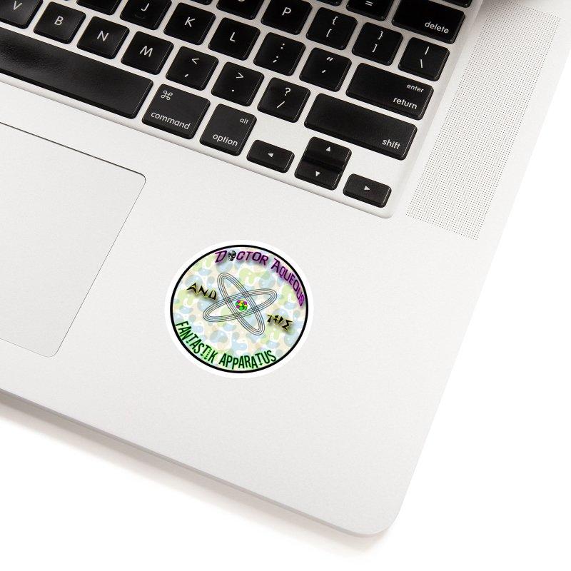 Amoeba Logo Accessories Sticker by Dr Aqueous and the Fantastik Apparatus