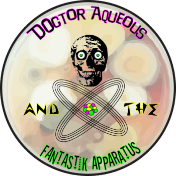 Dr Aqueous and the Fantastik Apparatus Logo