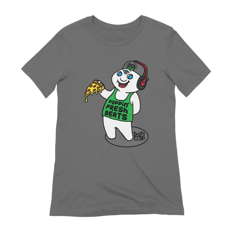 Poppin' Fresh Doey Women's T-Shirt by DoeyJoey's Artist Shop