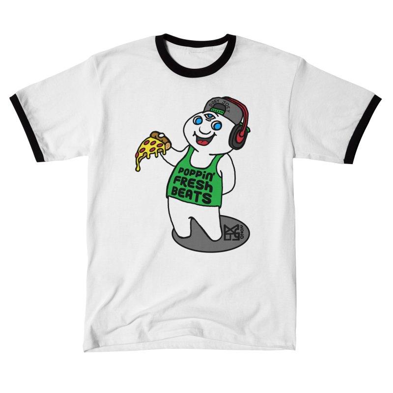 Poppin' Fresh Doey Men's T-Shirt by DoeyJoey's Artist Shop
