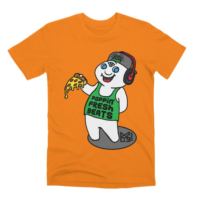 Poppin' Fresh Doey Men's T-Shirt by DoeyJoey's Artist Shop