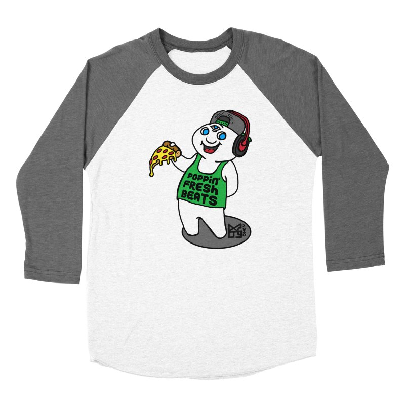 Poppin' Fresh Doey Women's Longsleeve T-Shirt by DoeyJoey's Artist Shop