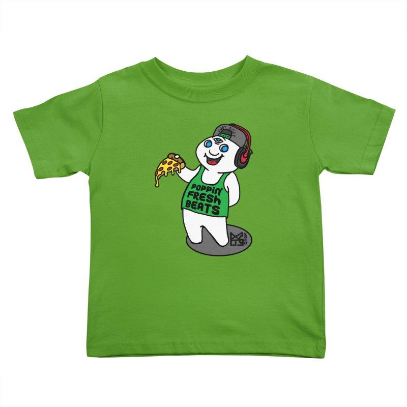 Poppin' Fresh Doey Kids Toddler T-Shirt by DoeyJoey's Artist Shop