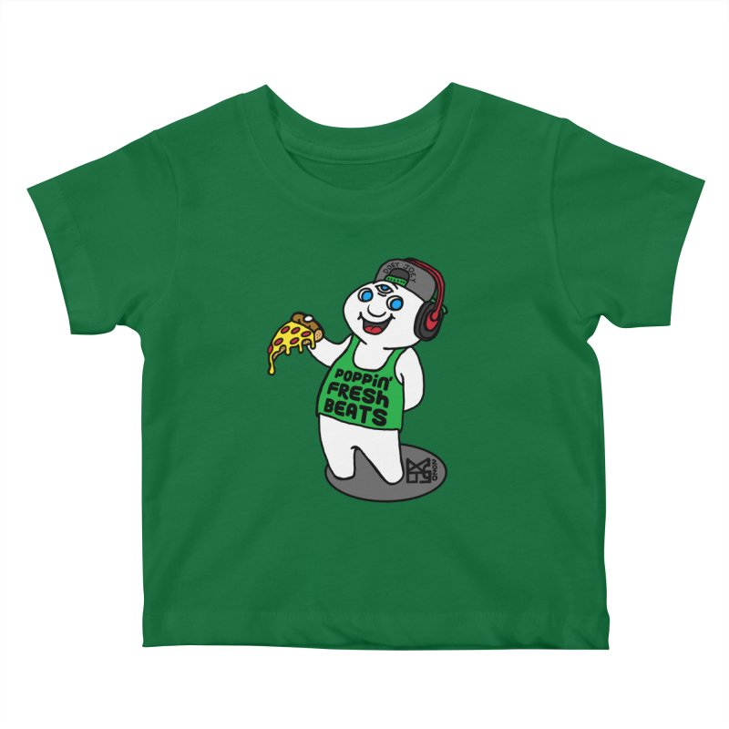 Poppin' Fresh Doey Kids Baby T-Shirt by DoeyJoey's Artist Shop