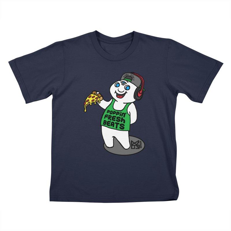 Poppin' Fresh Doey Kids T-Shirt by DoeyJoey's Artist Shop