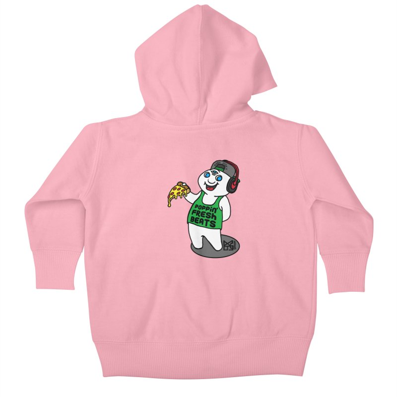 Poppin' Fresh Doey Kids Baby Zip-Up Hoody by DoeyJoey's Artist Shop