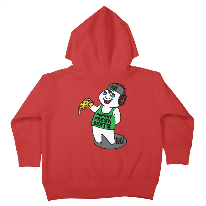 Poppin' Fresh Doey Kids Toddler Zip-Up Hoody by DoeyJoey's Artist Shop