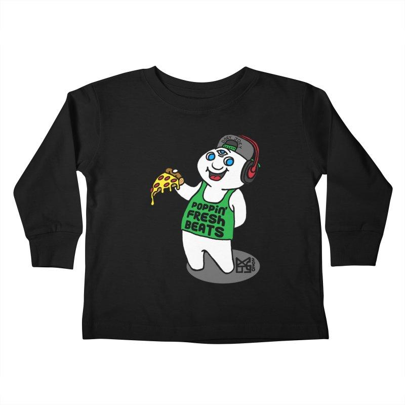 Poppin' Fresh Doey Kids Toddler Longsleeve T-Shirt by DoeyJoey's Artist Shop