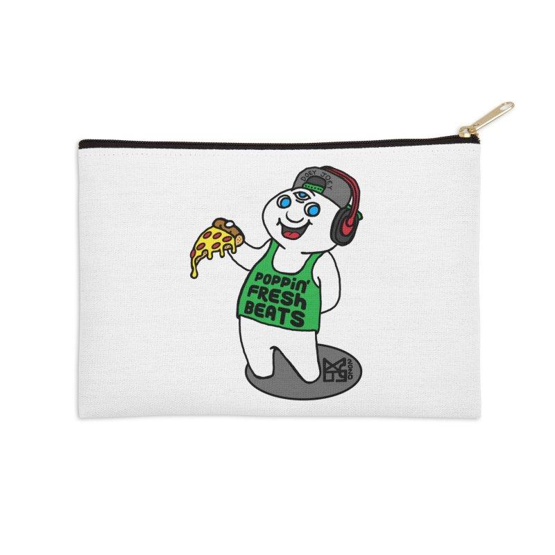 Poppin' Fresh Doey Accessories Zip Pouch by DoeyJoey's Artist Shop