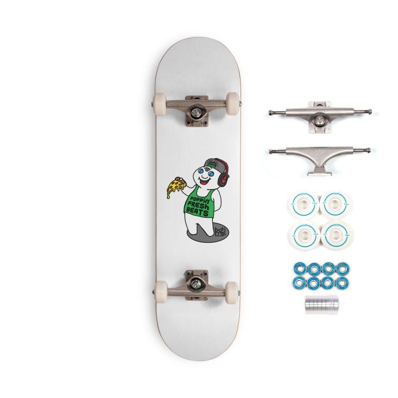 Poppin' Fresh Doey Accessories Skateboard by DoeyJoey's Artist Shop