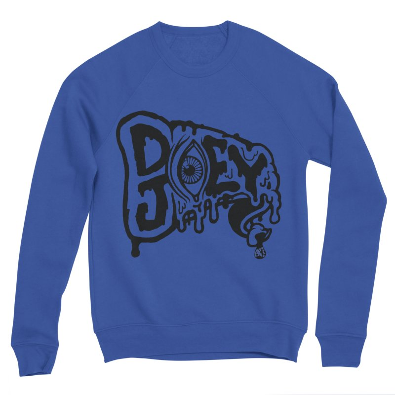 Sideways Slice Men's Sweatshirt by DoeyJoey's Artist Shop