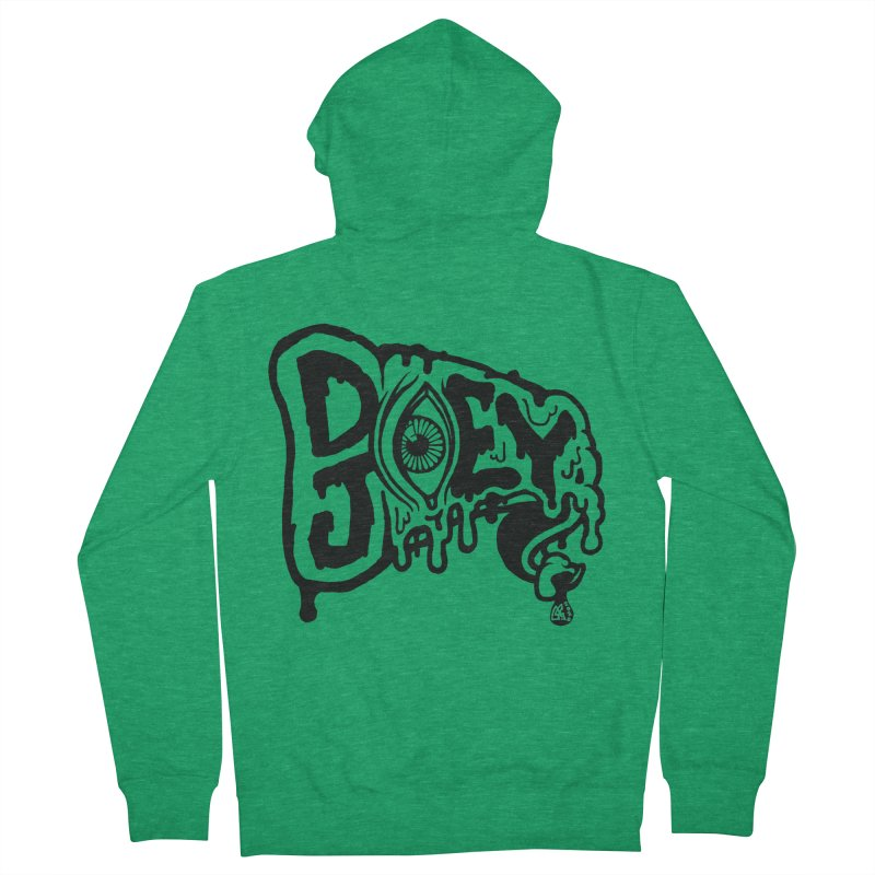 Sideways Slice Men's Zip-Up Hoody by DoeyJoey's Artist Shop