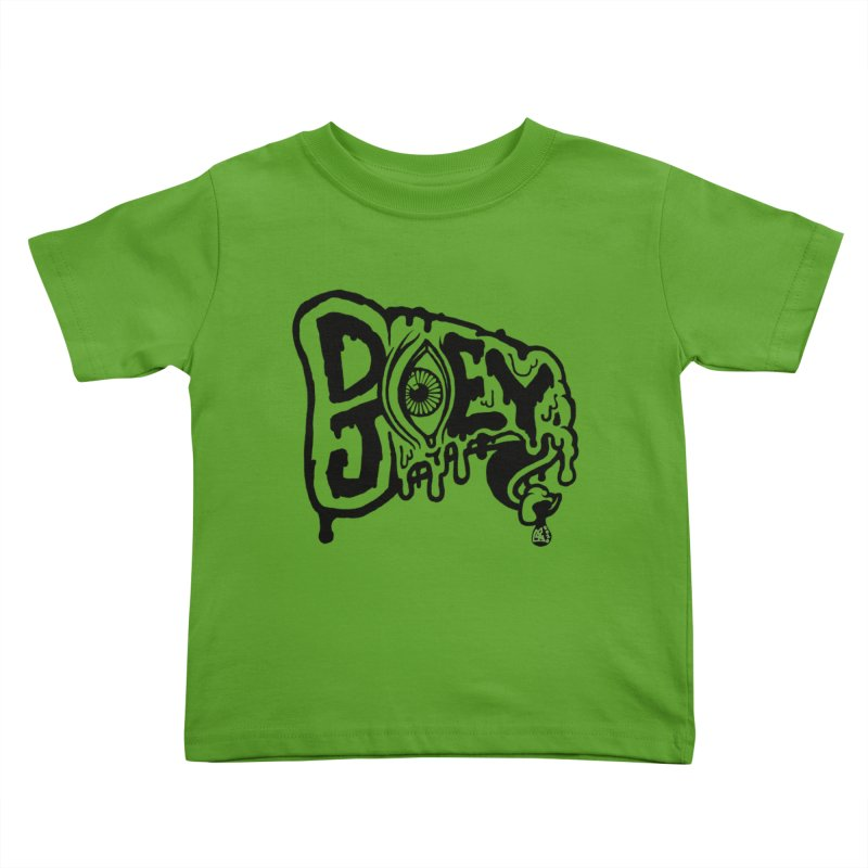 Sideways Slice Kids Toddler T-Shirt by DoeyJoey's Artist Shop