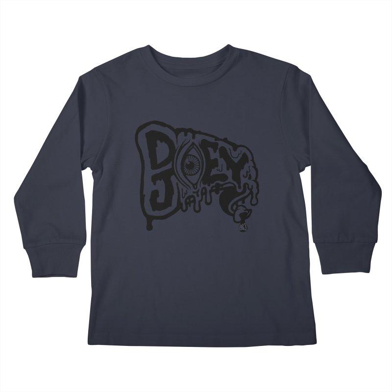 Sideways Slice Kids Longsleeve T-Shirt by DoeyJoey's Artist Shop