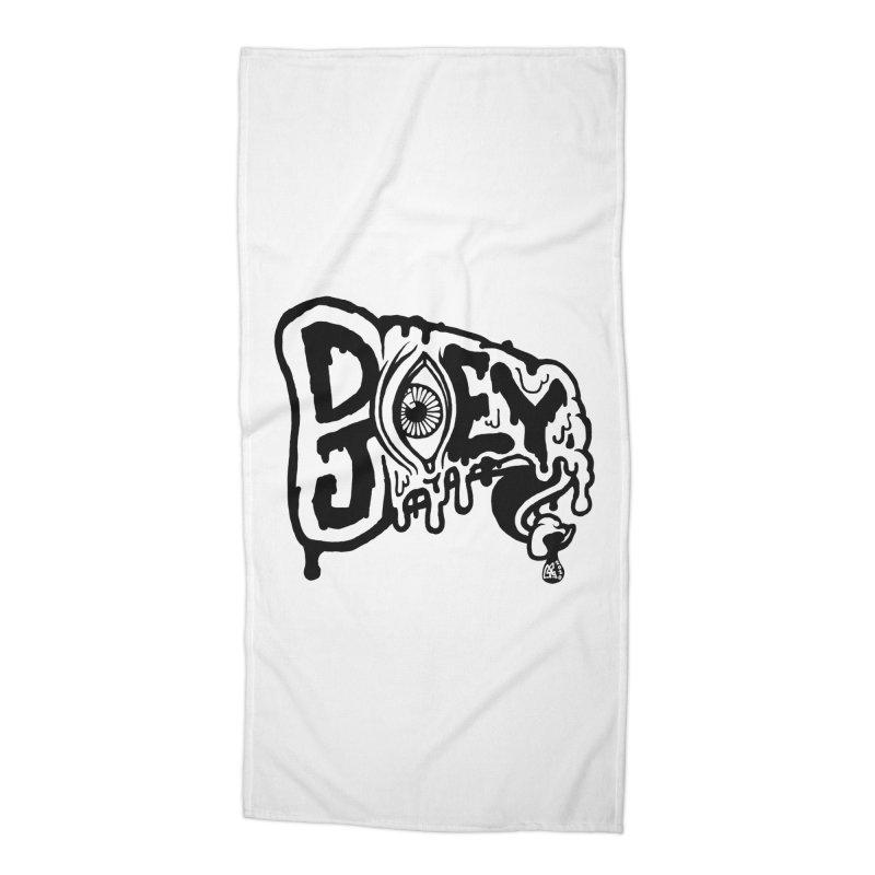 Sideways Slice Accessories Beach Towel by DoeyJoey's Artist Shop