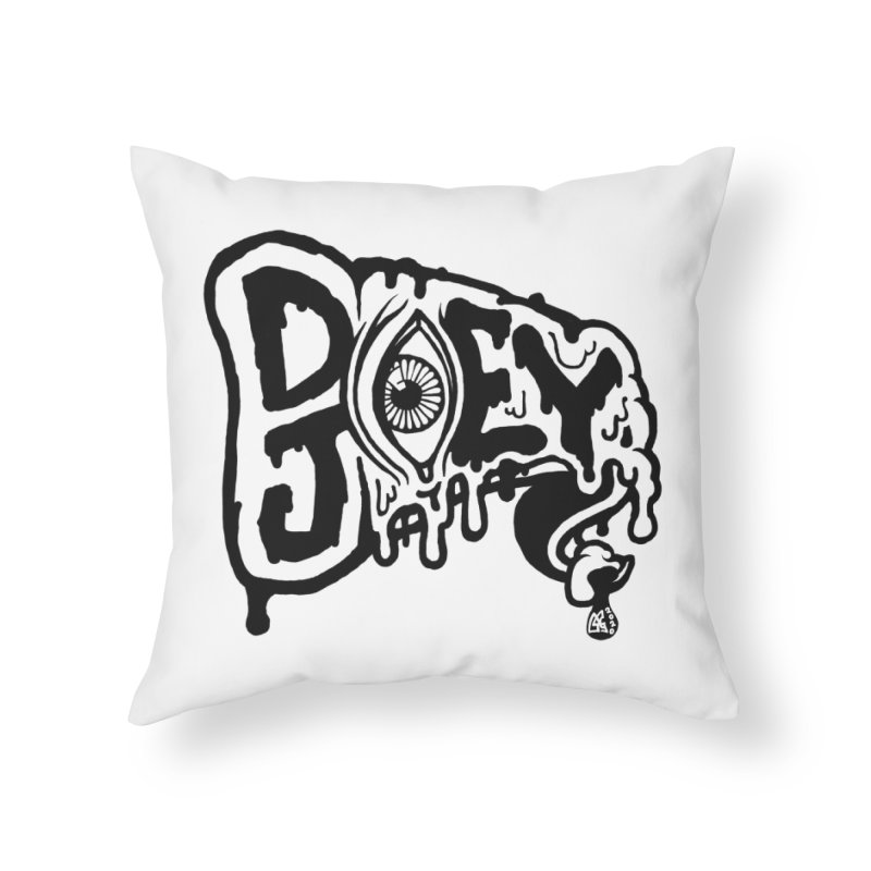 Sideways Slice Home Throw Pillow by DoeyJoey's Artist Shop