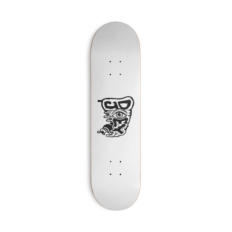 Sideways Slice Accessories Skateboard by DoeyJoey's Artist Shop