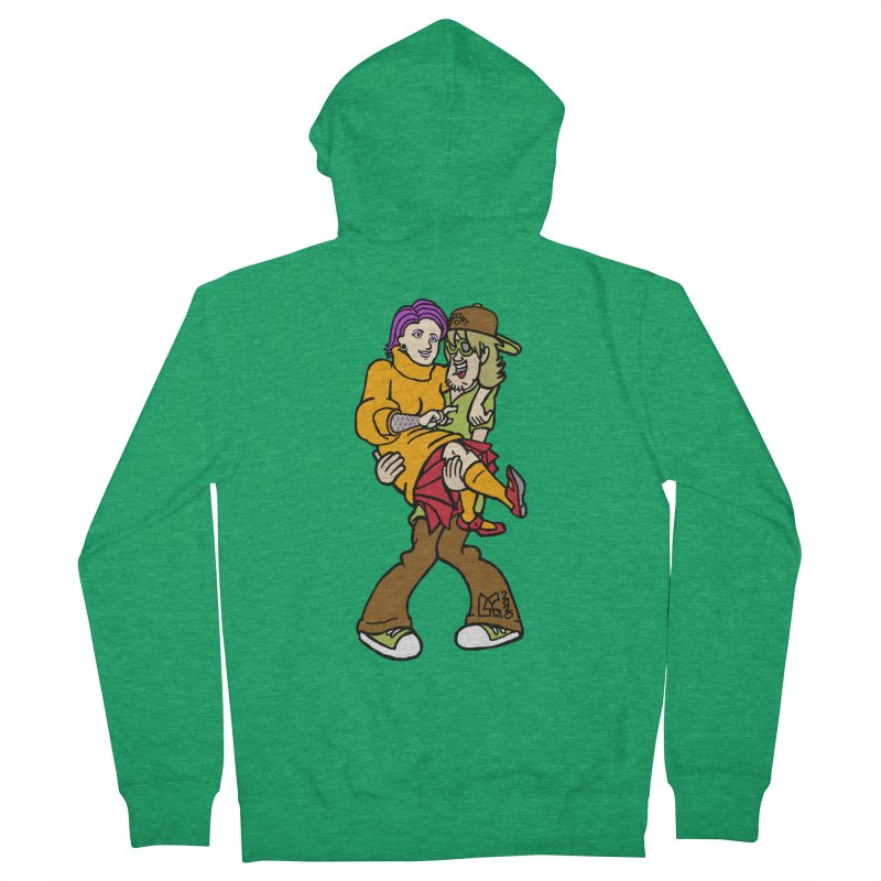 Shaggy 2 Doey Men's Zip-Up Hoody by DoeyJoey's Artist Shop