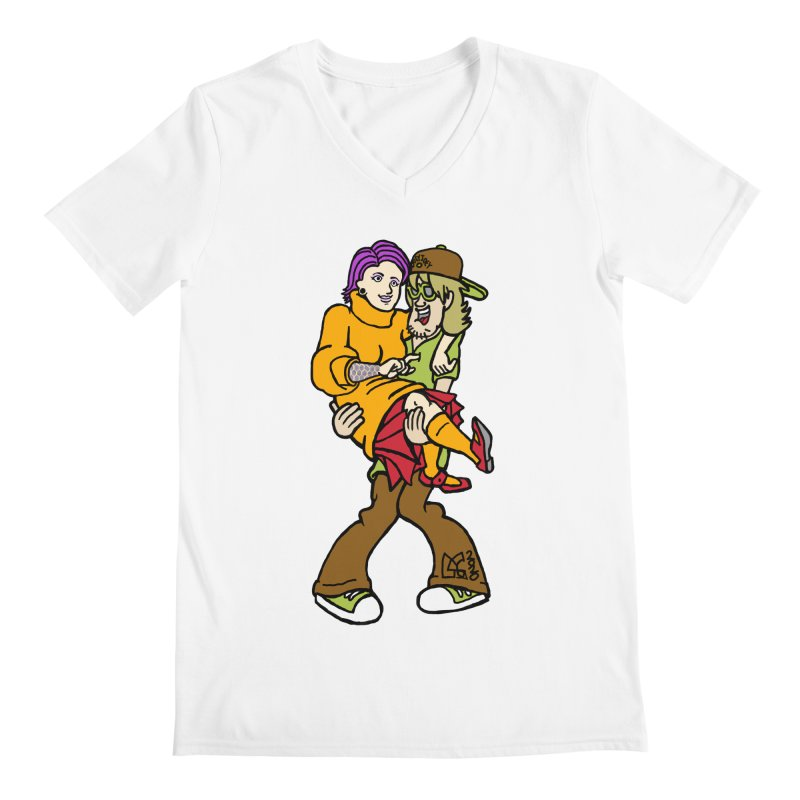 Shaggy 2 Doey Men's V-Neck by DoeyJoey's Artist Shop